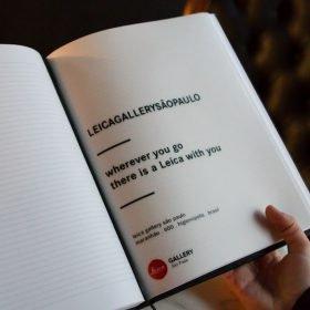 caderno Leica Gallery